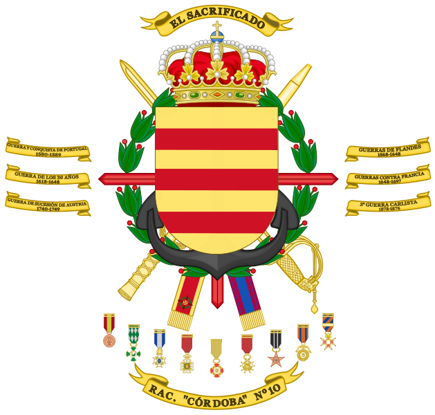 File:Armoured Regiment Córdoba No 10, Spanish Army.png