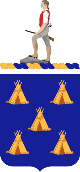 Arms of 378th (Infantry) Regiment, US Army