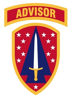 Arms of 1st Security Force Assistance Brigade, US Army