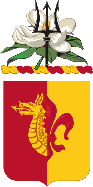 Coat of arms (crest) of the 137th Field Artillery Regiment, Mississippi Army National Guard