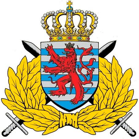 Coat of arms (crest) of the Armed Forces of Luxembourg