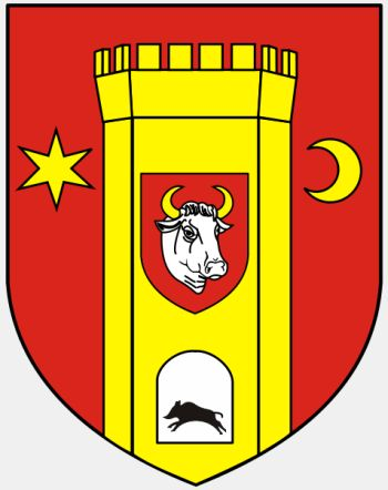 Arms (crest) of Człuchów (county)