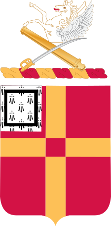 Coat of arms (crest) of the 81st Field Artillery Regiment, US Army