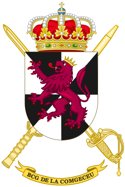 File:Ceuta General Command Headquarters Battalion, Spanish Army.png