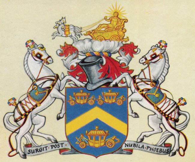 Arms of Worshipful Company of Coachmakers and Coach Harness Makers