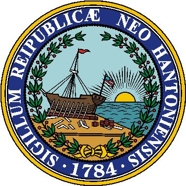 Arms (crest) of New Hampshire
