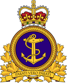 Coat of arms (crest) of the Royal Canadian Navy