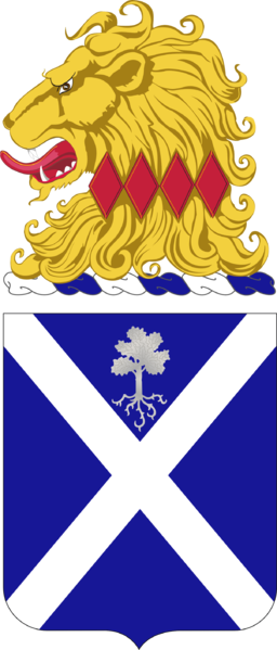 Coat of arms (crest) of the 113th Infantry Regiment, New Jersey Army National Guard