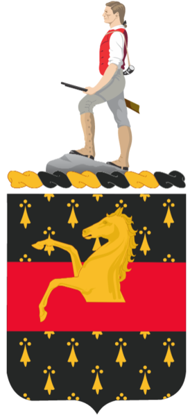 Coat of arms (crest) of the 309th Cavalry Regiment, US Army