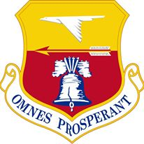 Coat of arms (crest) of the 913th Airlift Group, US Air Force