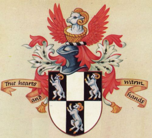 Arms of Worshipful Company of Glovers