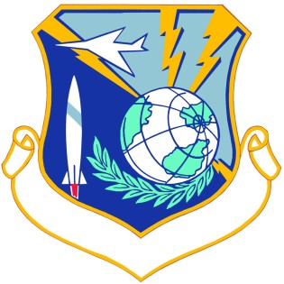 Coat of arms (crest) of the 22nd Strategic Aerospace Division, US Air Force