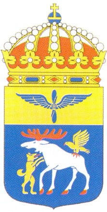 Coat of arms (crest) of the 4th Wing Jämtland Wing, Swedish Air Force