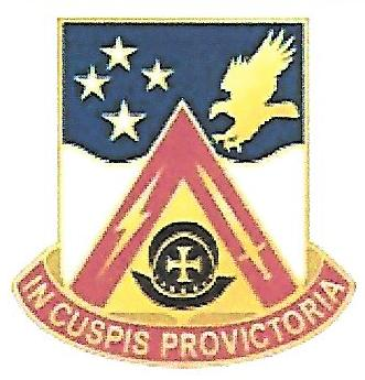 Arms of 916th Support Battalion, US Army