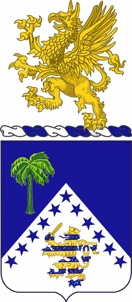 Coat of arms (crest) of the 125th Infantry Regiment, Michigan Army National Guard