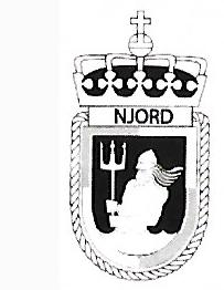 Coat of arms (crest) of the Coast Guard Vessel KV Njord, Norwegian Navy