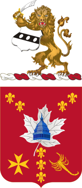 Coat of arms (crest) of the 213th Air Defense Artillery Regiment, Pennsylvania Army National Guard