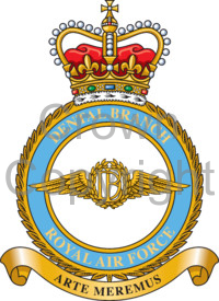 Coat of arms (crest) of the Dental Branch, Royal Air Force