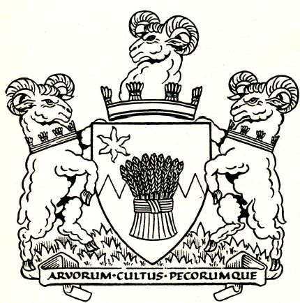 Coat of arms (crest) of Royal Agricultural College