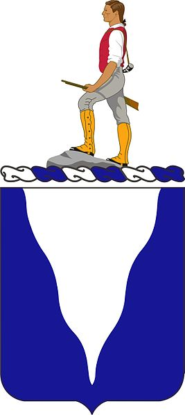 Coat of arms (crest) of the 415th (Infantry) Regiment, US Army