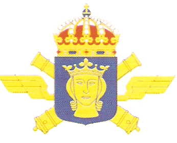 Coat of arms (crest) of the 3rd Air Defence Regiment Roslagen Air Defence Regiment, Swedish Army