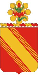 Coat of arms (crest) of the 44th Air Defense Artillery Regiment, US Army