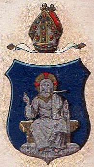 Arms (crest) of Diocese of Chichester