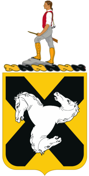 Coat of arms (crest) of the 310th Cavalry Regiment, US Army