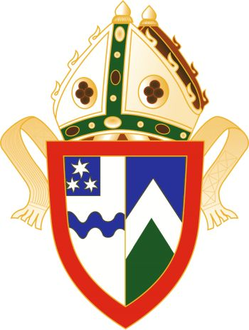 Arms (crest) of the Diocese of Waikato and Taranaki