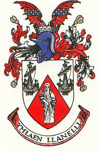 Arms (crest) of Llanelli