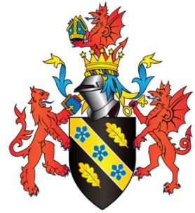 Coat of arms (crest) of University of Wales Trinity Saint David