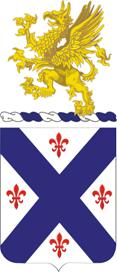 Coat of arms (crest) of the 126th Infantry Regiment, Michigan Army National Guard