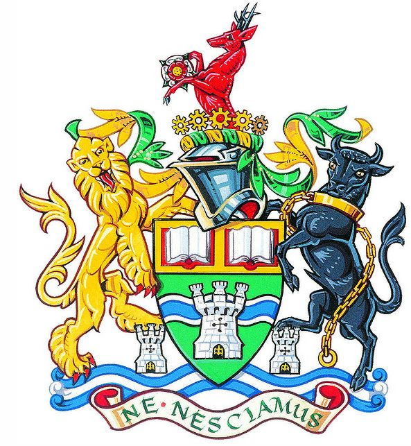 Arms of University of Northampton