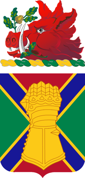 Coat of arms (crest) of the 108th Armor Regiment, Georgia Army National Guard