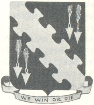 Coat of arms (crest) of the 344th Bombardment Group, USAAF