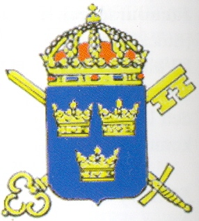 Coat of arms (crest) of the Armed Forces Civil Administration, Sweden