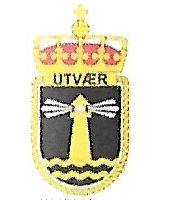 Coat of arms (crest) of the Submarine KNM Utvær, Norwegian Navy