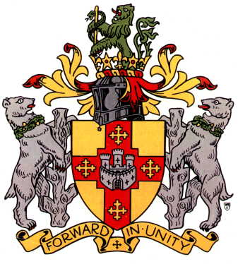 Arms (crest) of Warwick