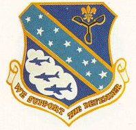 Coat of arms (crest) of the 3rd Weather Wing, US Air Force