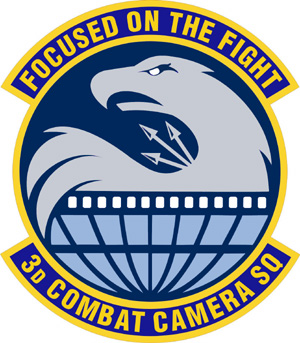 Coat of arms (crest) of the 3rd Combat Camera Squadron, US Air Force