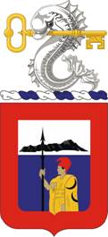 Coat of arms (crest) of the 227th Engineer Battalion, Hawaii Army National Guard