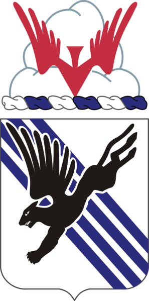 Coat of arms (crest) of the 505th Infantry Regiment, US Army