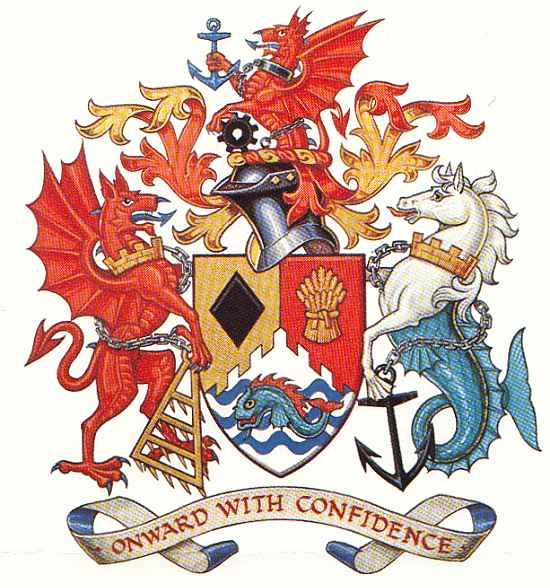 Arms (crest) of Bridgend