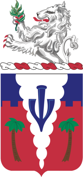 Coat of arms (crest) of the 139th Field Artillery Regiment, Indiana Army National Guard