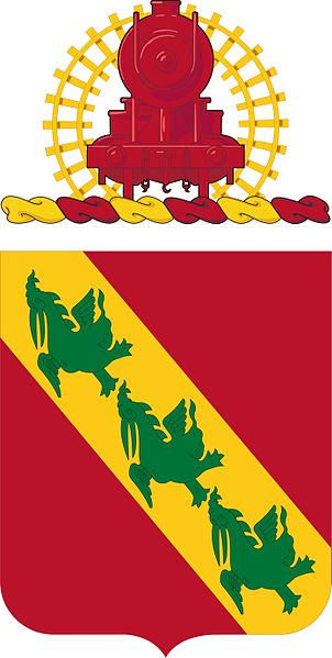 Arms of 43rd Air Defense Artillery Regiment, US Army