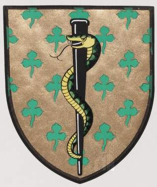 Arms of Medical Council of Ireland