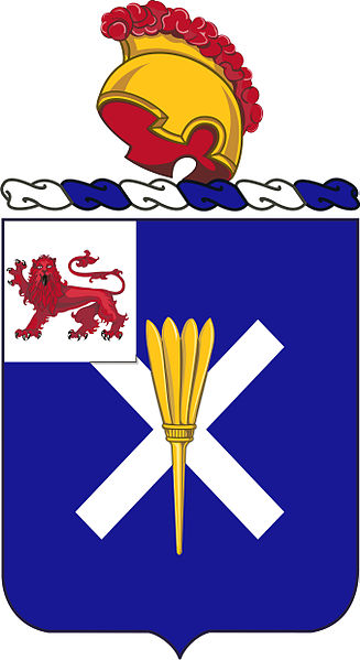 Coat of arms (crest) of the 32nd Infantry Regiment, US Army