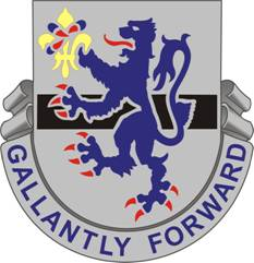 Arms of 71st Cavalry Regiment, US Army