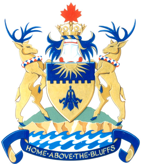 Arms (crest) of Scarborough (Ontario)