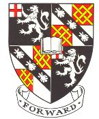 Arms (crest) of Churchill College (Cambridge University)